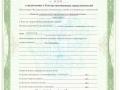 Лицензия о включении в реестр таможенных представителей 1