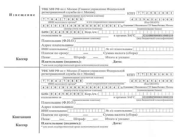 образец заявления на паспорт после замужества